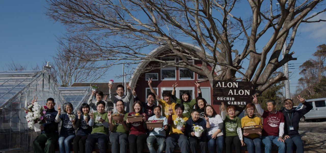 日本唯一の胡蝶蘭ハウス